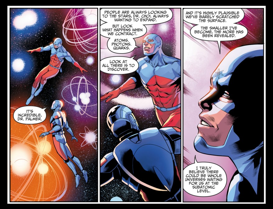 The Atom Ray Palmer And Ryan Choi (Injustice II)