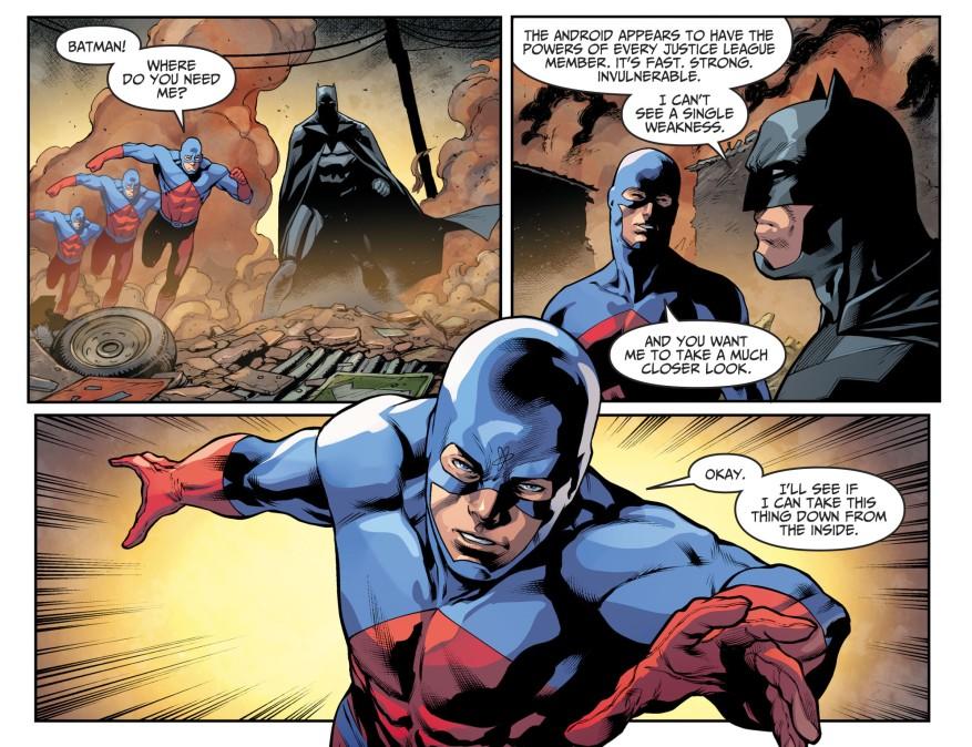 The Atom VS Amazo (Injustice II)