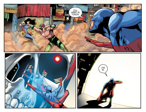 The Atom VS Amazo (Injustice II)
