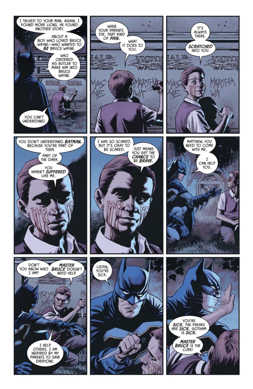 The Origins Of Master Bruce