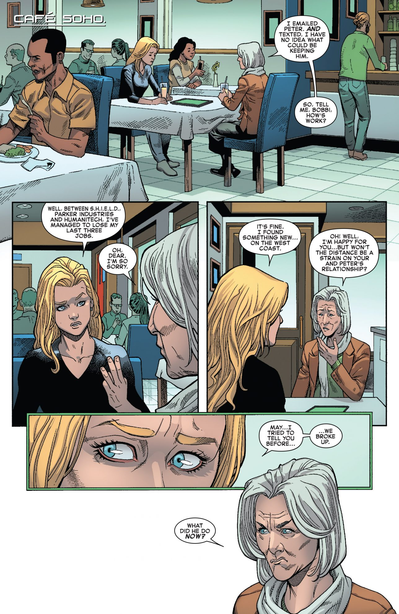 Why Spider-Man And Mockingbird Broke Up | Comicnewbies