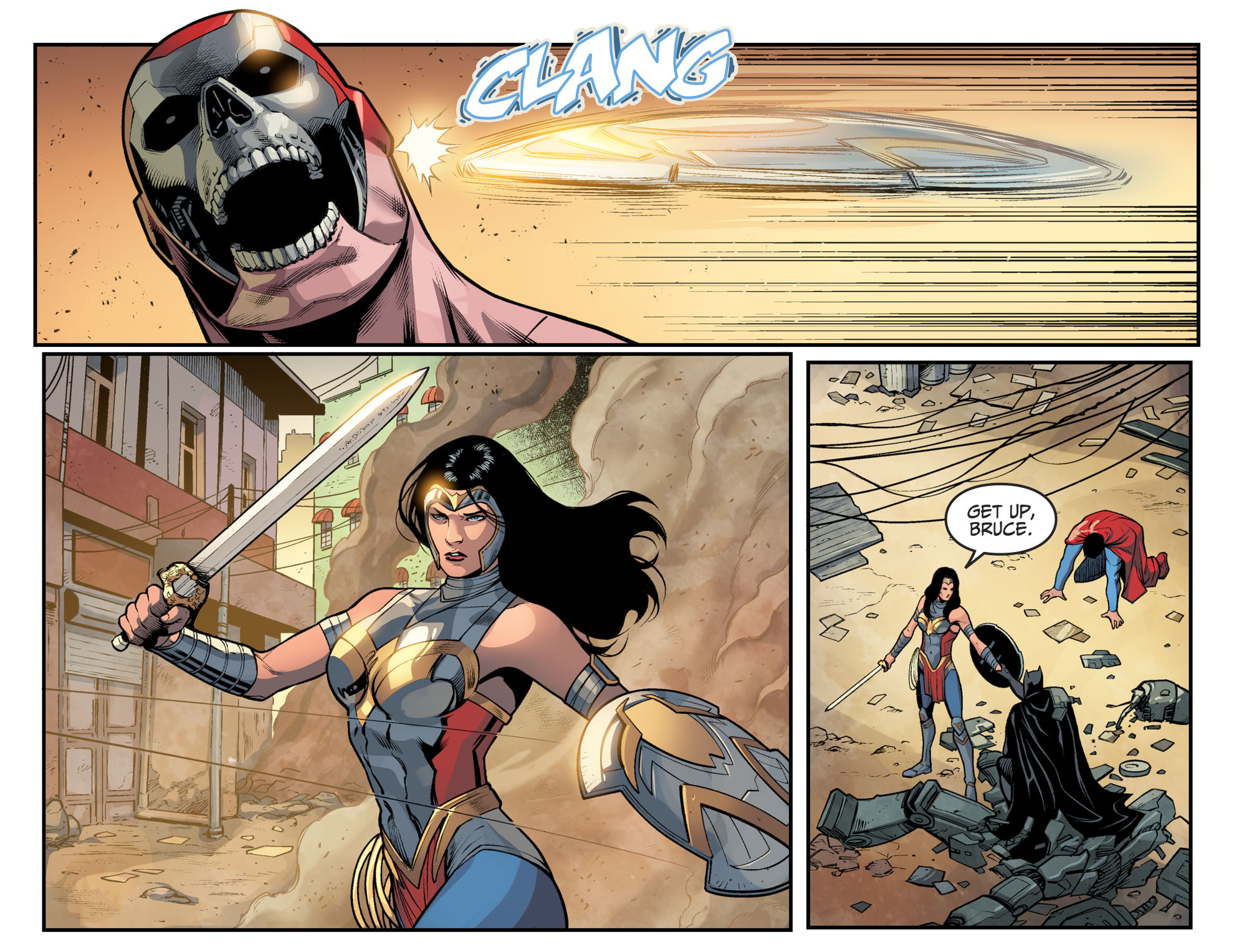 Wonder Woman Saves Batman