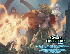 Aquaman And Mera (Aquaman Vol 8 #32)