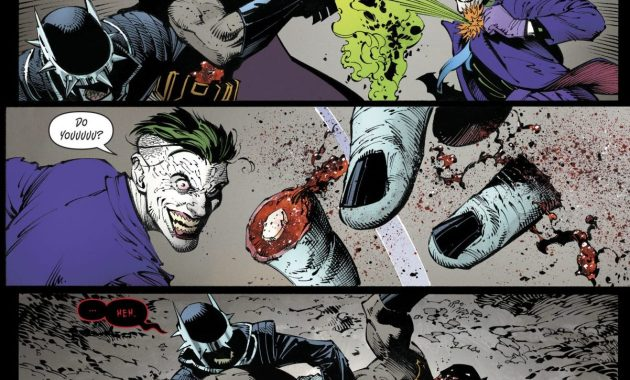 Batman And The Joker VS The Batman Who Laughs