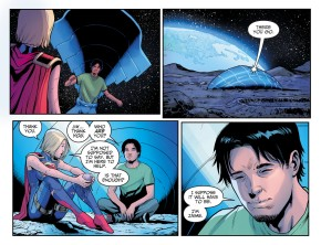 Blue Beetle Meets Supergirl (Injustice II)