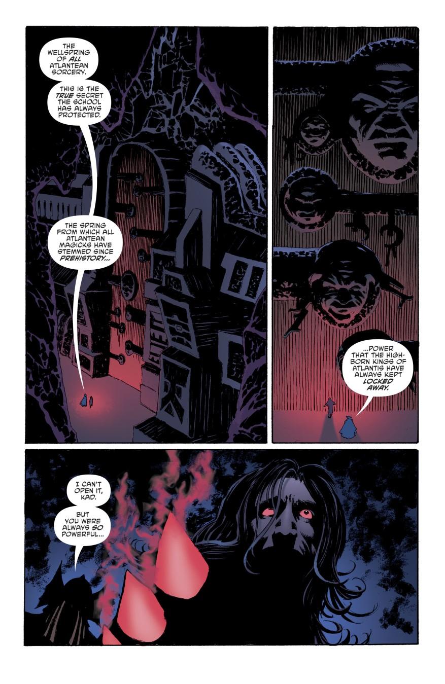Corum Rath Merges With The Abyssal Dark
