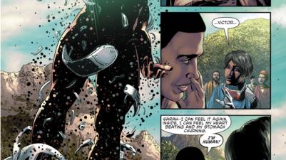 Cyborg's First Wish From A Jinn