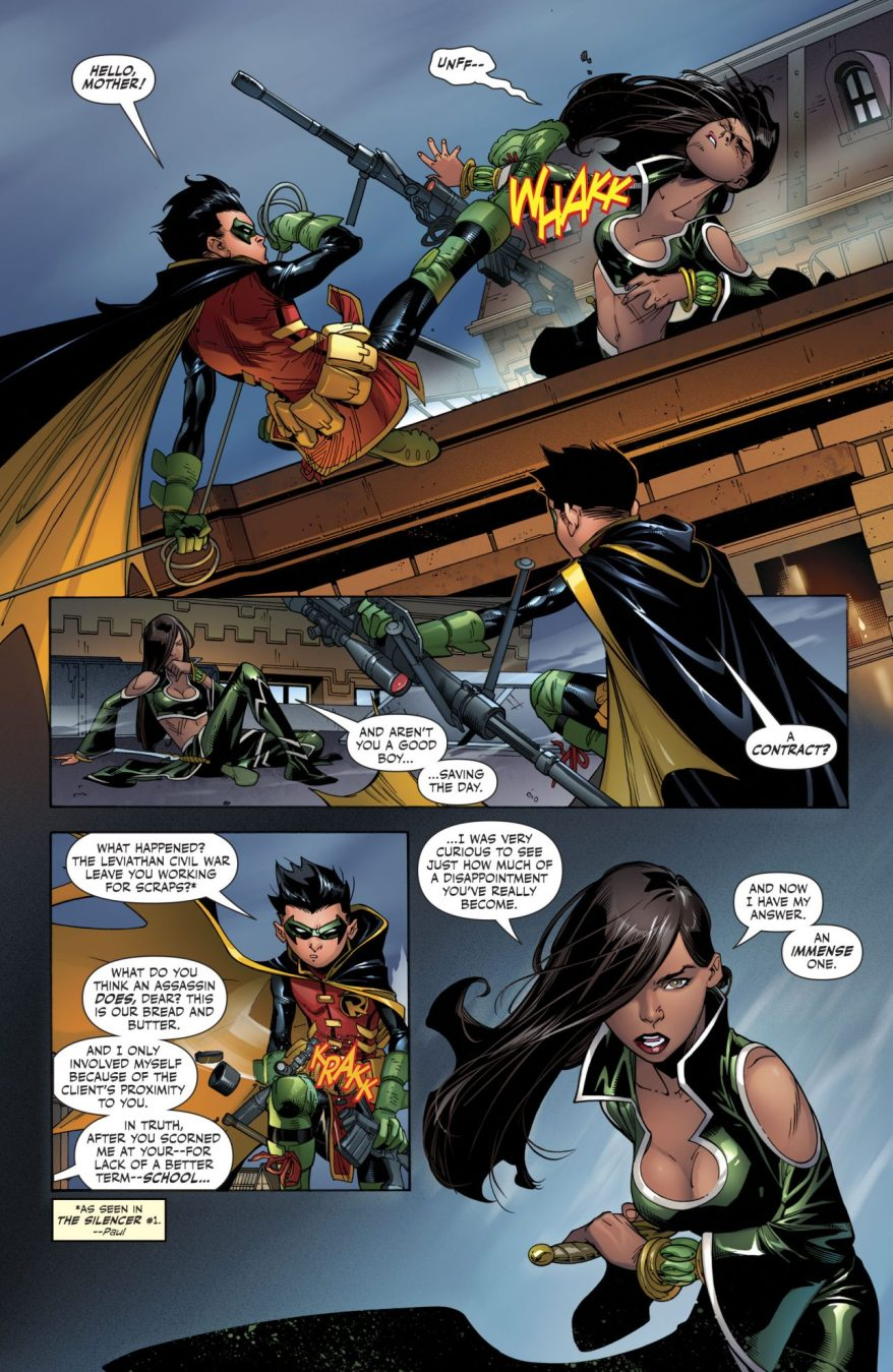 Damian Wayne VS Talia al Ghul (Super Sons #14)