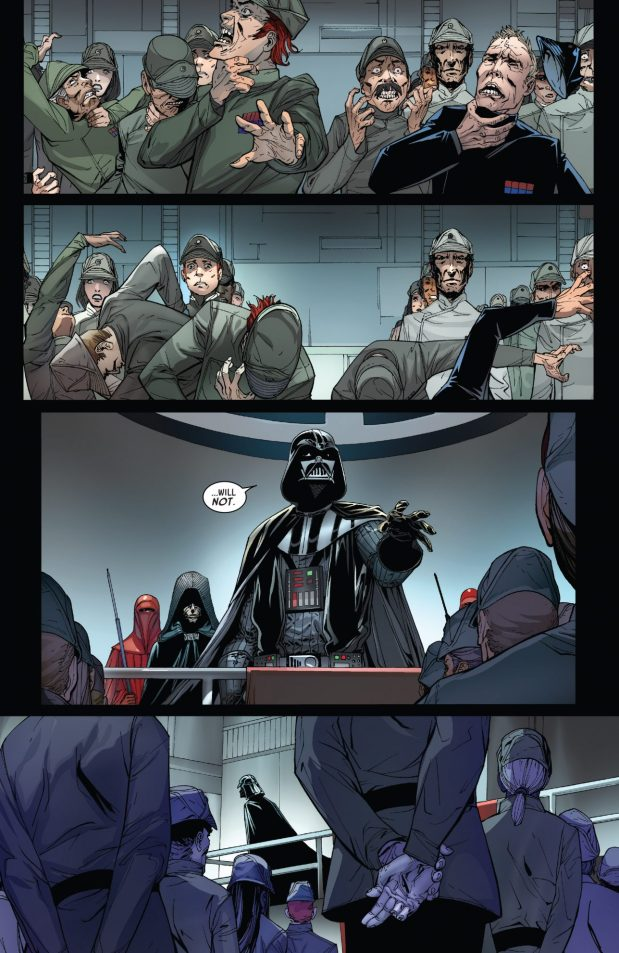 Darth Vader Executes Random Imperial Officers