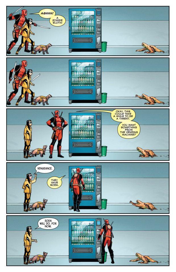 Deadpool And Honey Badger VS Zombie Animals