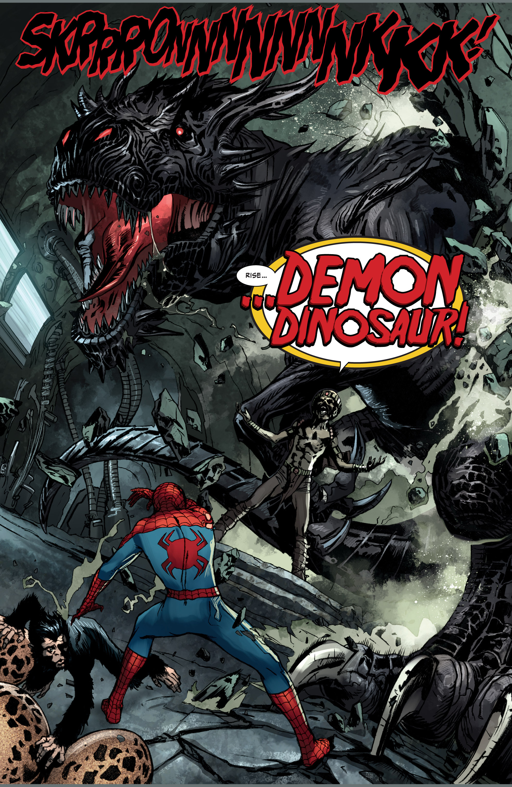 Devil Dinosaur VS Demon Dinosaur | Comicnewbies