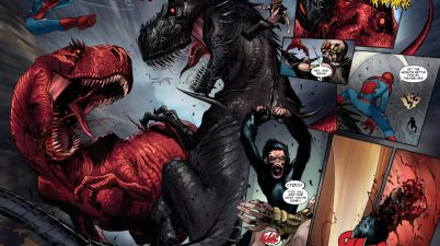 Devil Dinosaur VS Demon Dinosaur