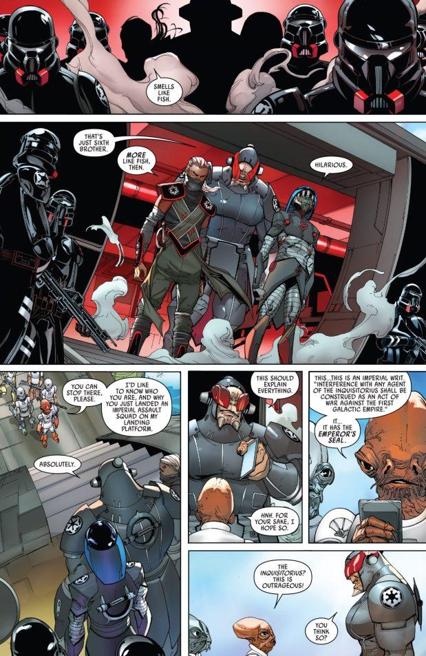 Gial Ackbar Meets Darth Vader