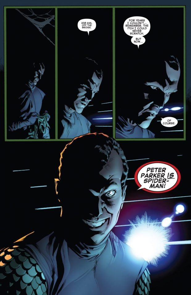 Green Goblin Learns Spider-Man Is Peter Parker