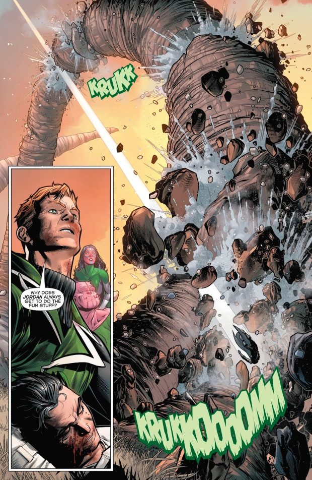 Green Lantern Hal Jordan VS General Zod