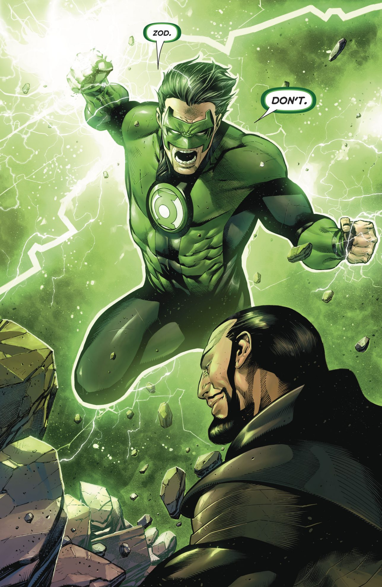 The Green Woman The Empress From The Wildwood Tarot: Green Lantern Kyle Rayner VS General Zod