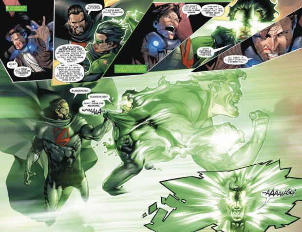 Green Lantern Kyle Rayner VS General Zod