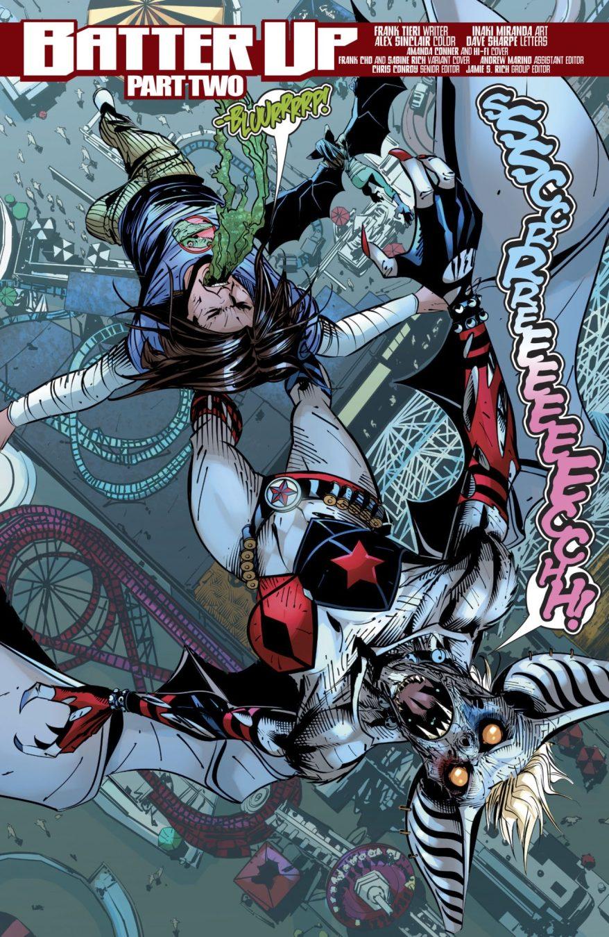Harley Quinn As A Man-Bat