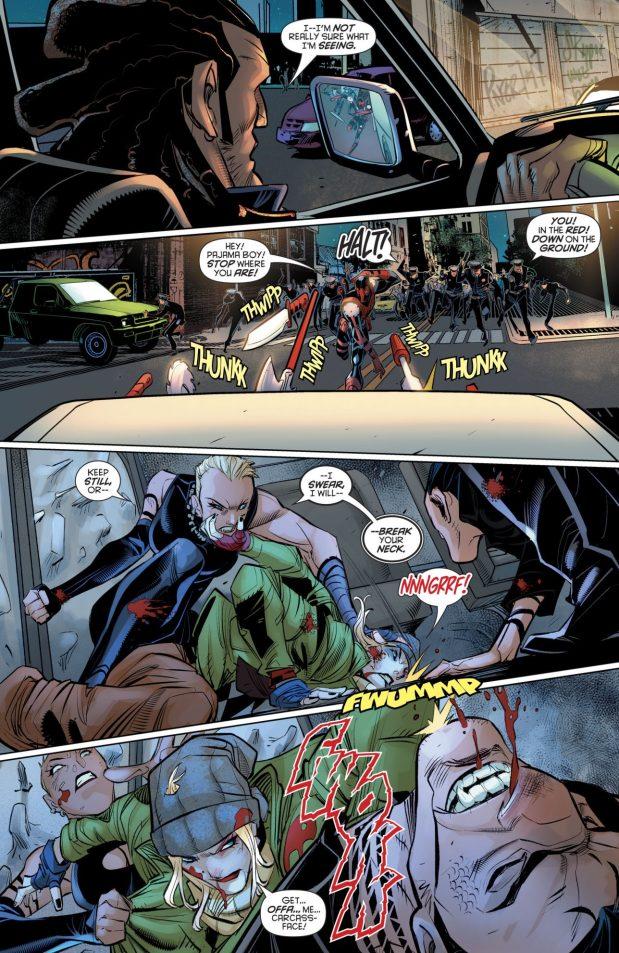 Harley Quinn Has A High Tolerance For Chloroform