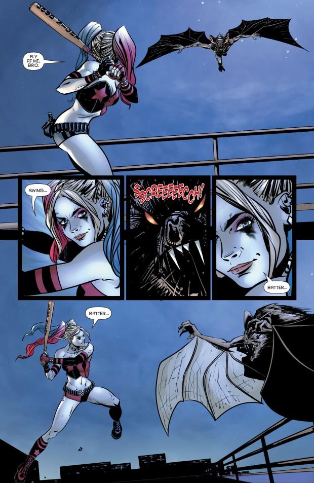 Harley Quinn VS A Man-Bat