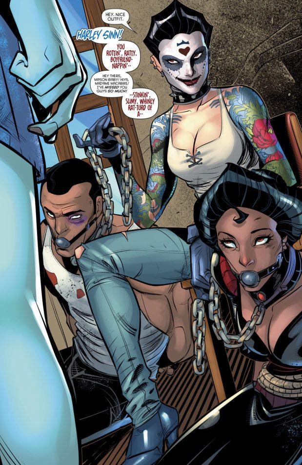 Harley Sinn (Harley Quinn Vol 3 #22)