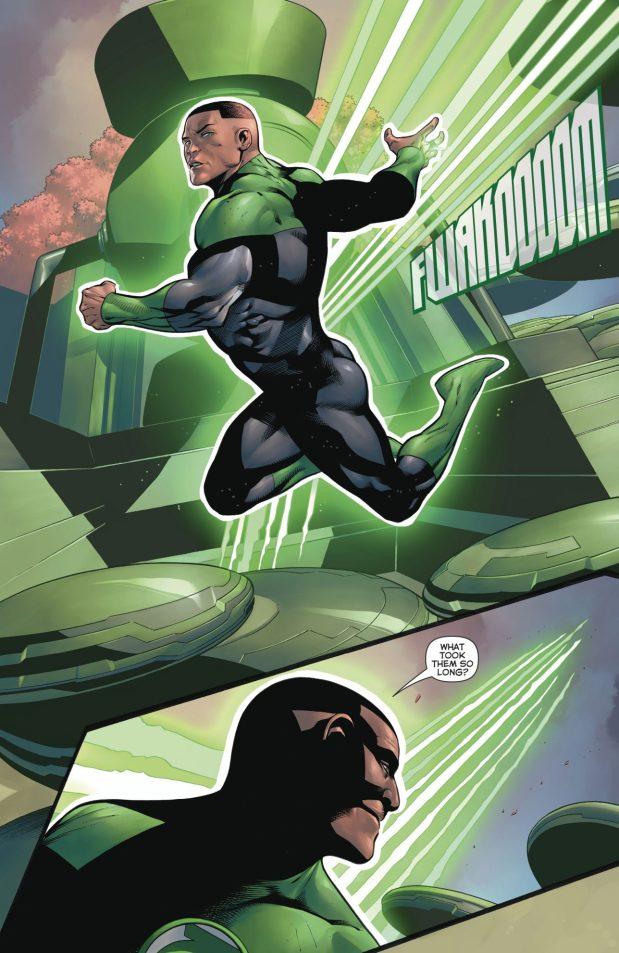 John Stewart (Hal Jordan And The Green Lantern Corps #39)