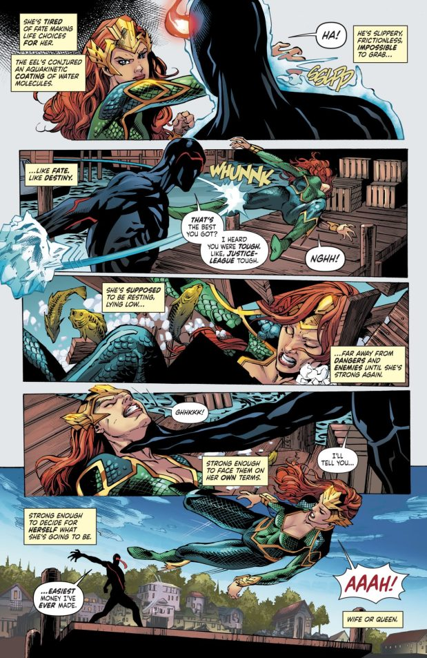 Mera VS The Eel