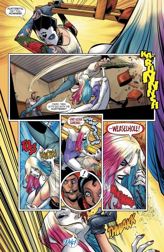 Naked Harley Quinn VS Harley Sinn