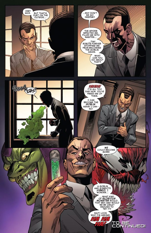 Norman Osborn Bonds With Carnage