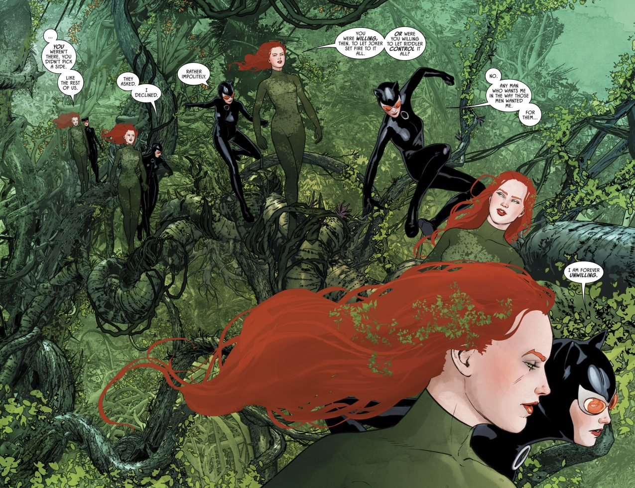 poison ivy and catwoman batman vol 3 43 comicnewbies