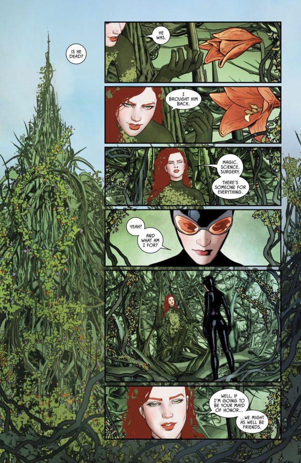 Poison Ivy Kills Batman (Rebirth)