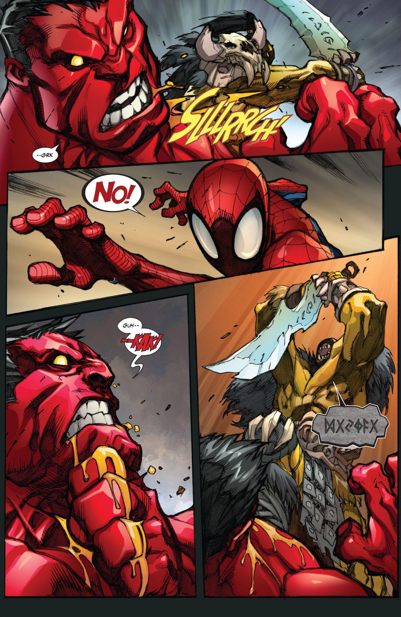 Red hulk vs rak tar comicnewbies - Pictures of red hulk ...