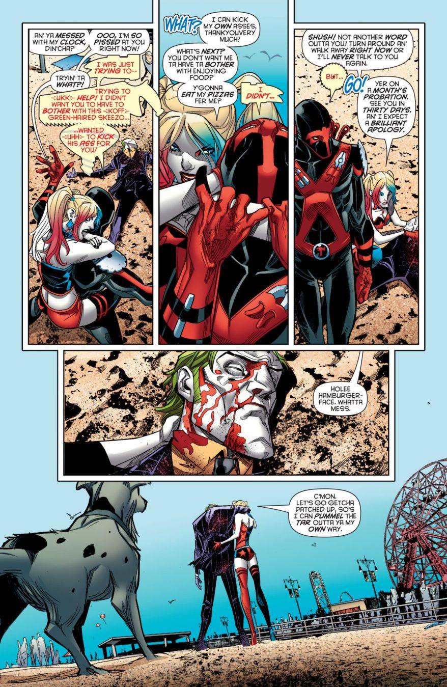 Red Tool Beats Up The Joker
