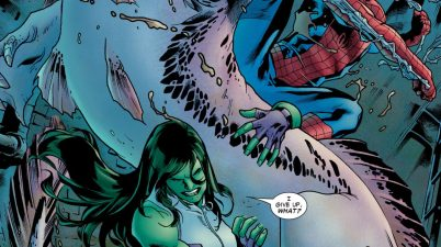 She-Hulk (Avenging Spider-Man #7)