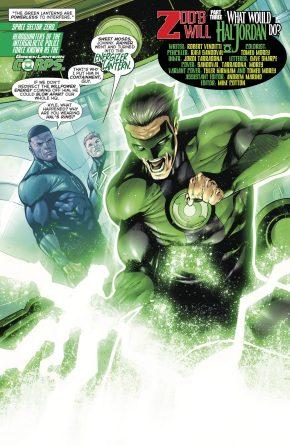 Side Effect Of Wearing Hal Jordan's Green Lantern Ring