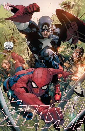 Spider-Man And Captain America VS Copperhead