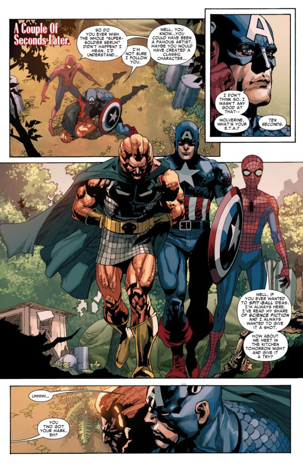Spider-Man And Captain America VS Copperhead