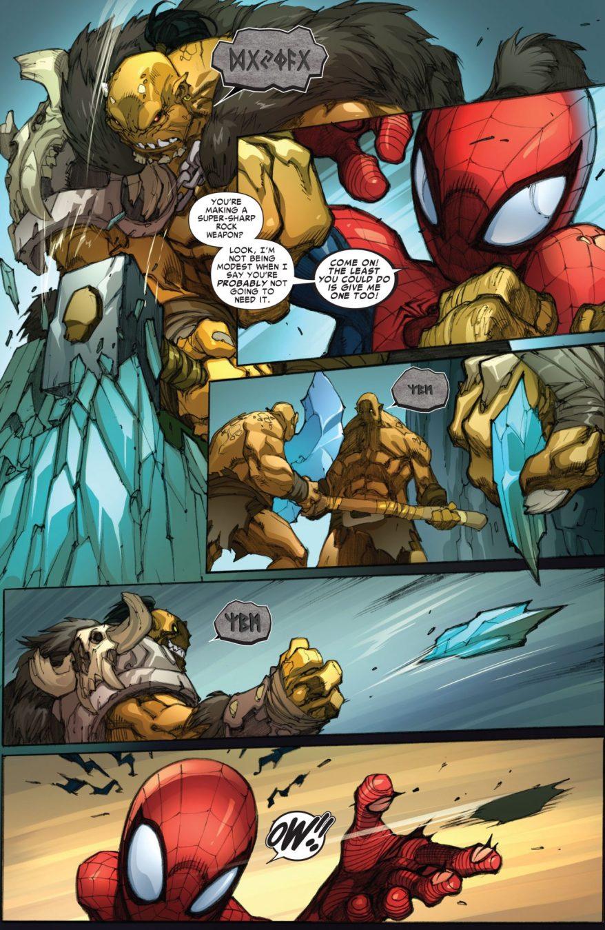 Spider-Man VS Rak'tar