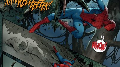 Spider-Man VS Savage Land Dinosaurs