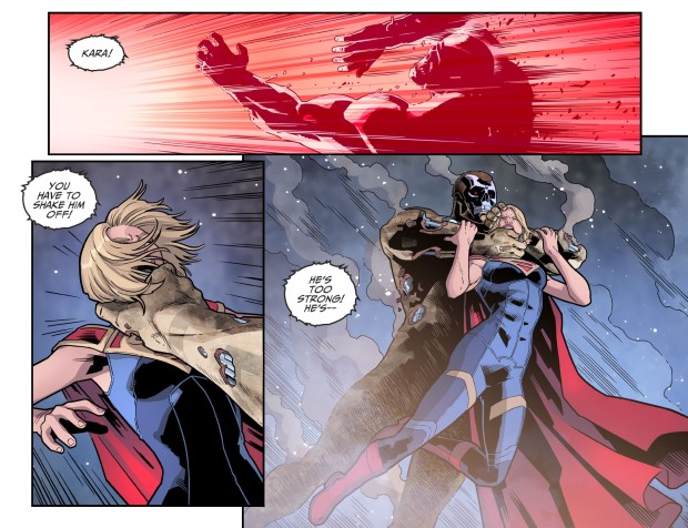 Supergirl VS Amazo (Injustice II)
