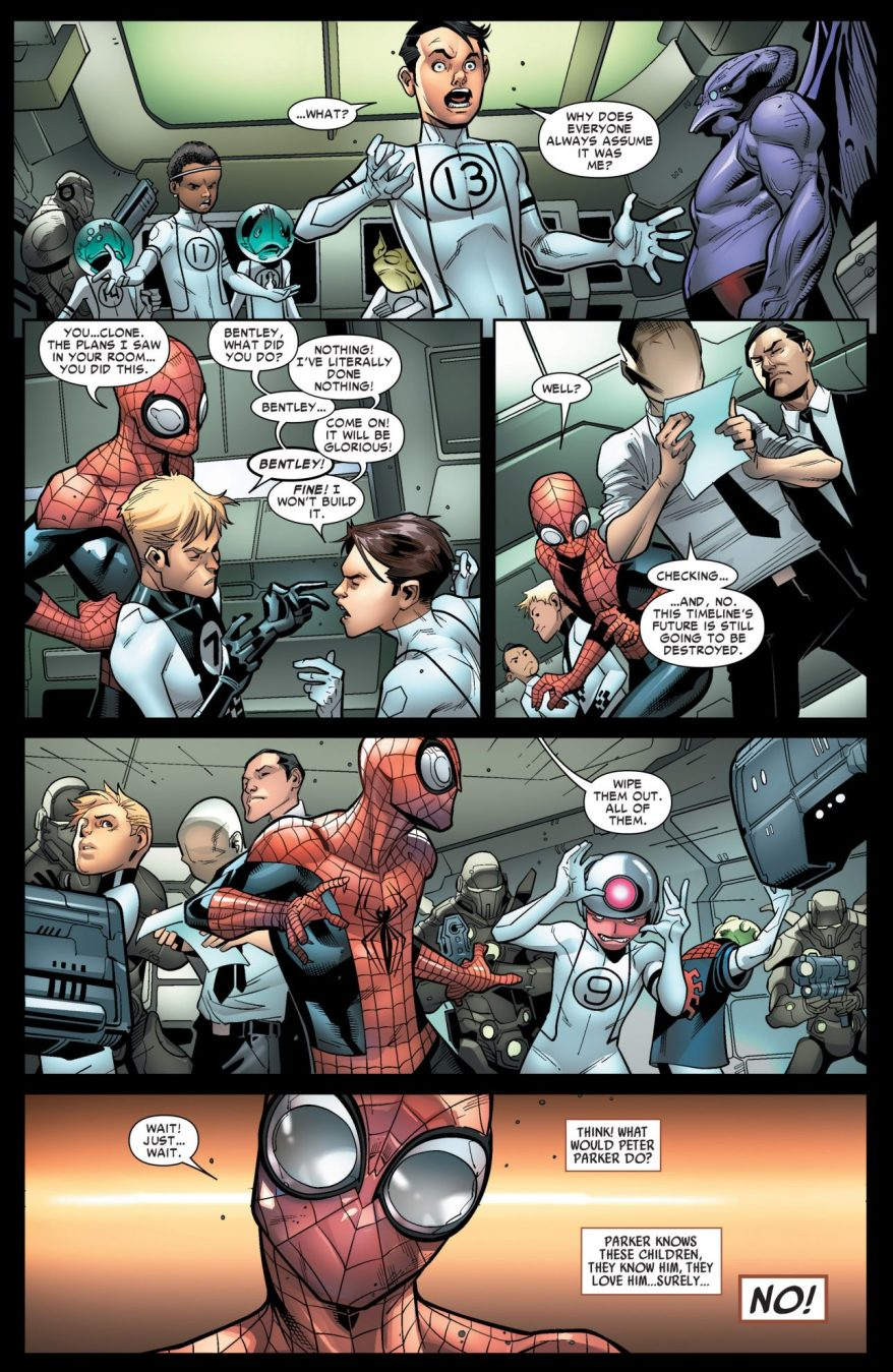 Superior Spider-Man Blackmails An Evil Kid