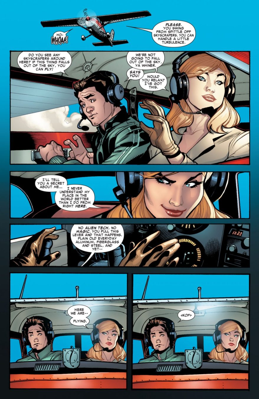 Why Captain Marvel Loves To Fly