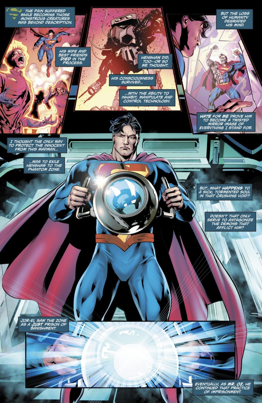 Why Superman Feels Sorry For Cyborg-Superman