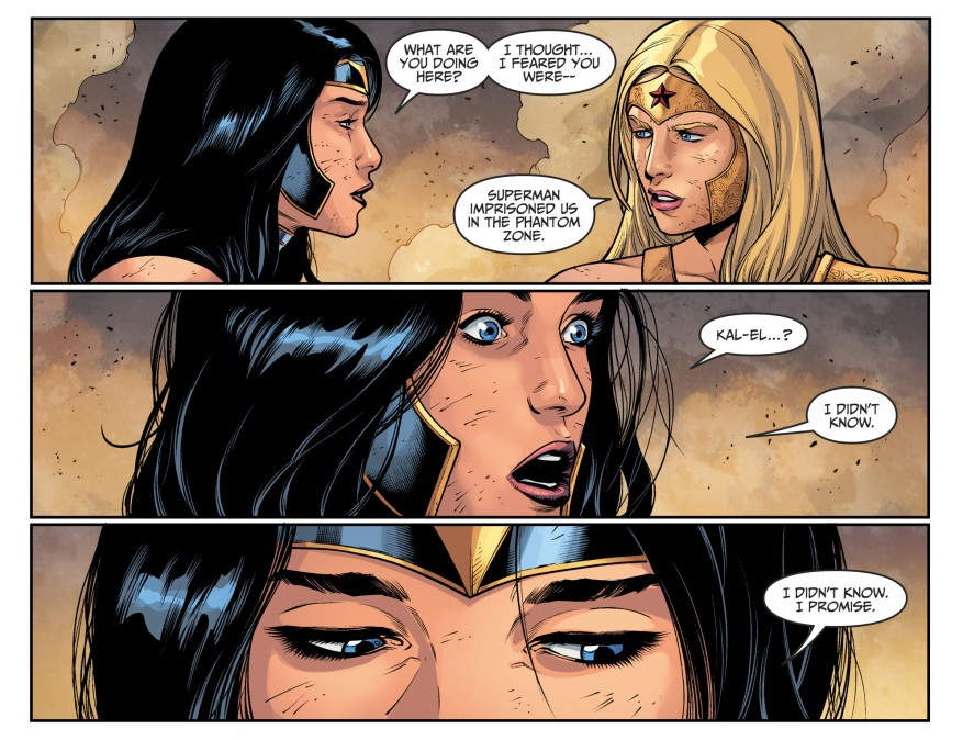 Wonder Woman And Wonder Girl (Injustice II)