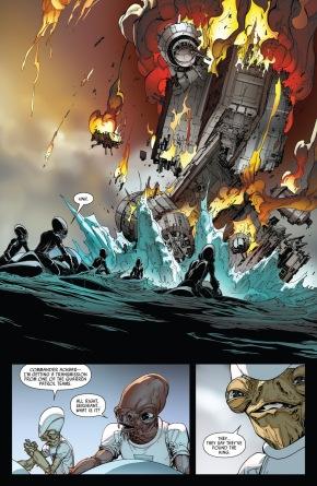 Ackbar Destroys An Imperial Skybase