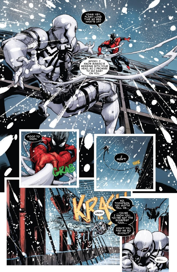Agent Anti-Venom VS Spider-Man (Maniac Symbiote)