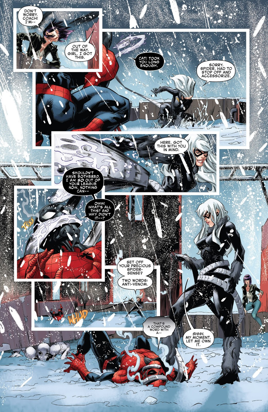 Spider-Man And Agent Anti-Venom VS Goblin King – Comicnewbies