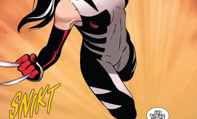 All New Wolverine Fast Ball Special