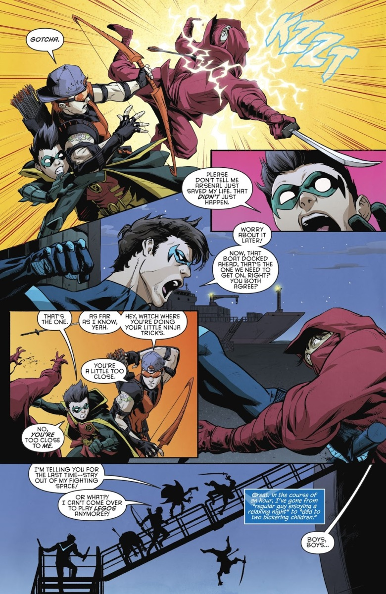 Arsenal Saves Damian Wayne's Life