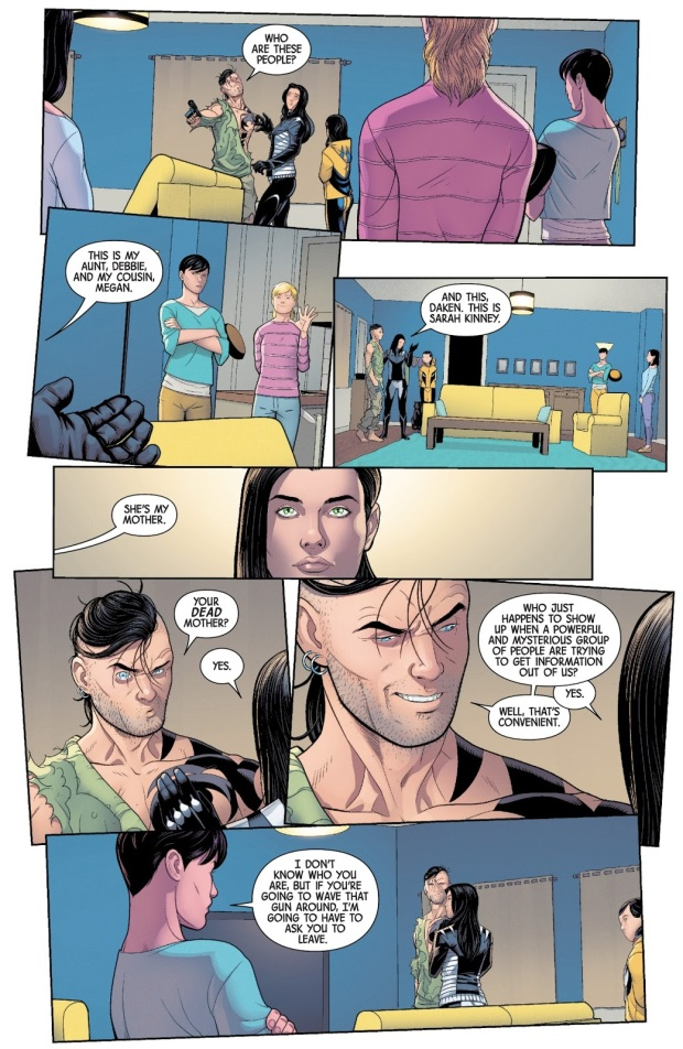 Daken Kills Laura Kinney's Mother
